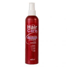 اسپری دو فاز محافظ مو در برابر حرارت اتو و سشوار