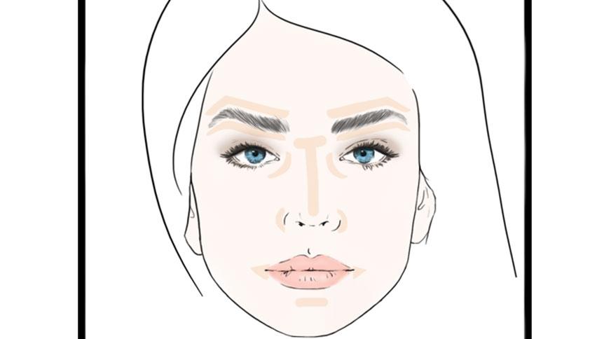 آرایش صورت با استفاده از کانسیلر
