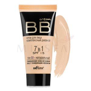 کرم آرایشی روزانه 1*7 بی بی (SPF15) کد 02 ( رنگ برنز روشن) 30 ml