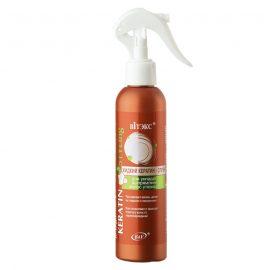 اسپری کراتین مایع حالت دهنده و صاف کننده مو