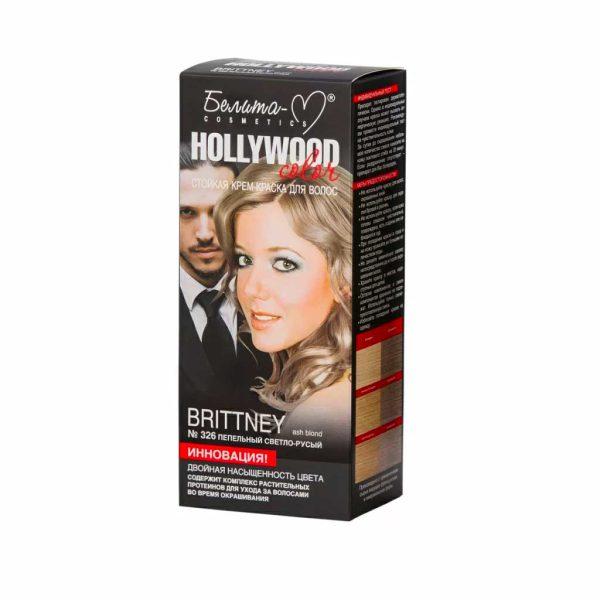 کیت رنگ مو هالیوود کالر مدل Britney رنگ بلوند روشن خاکستری