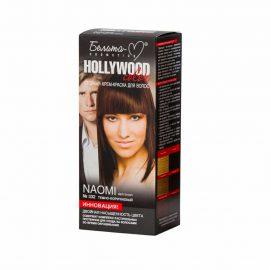 کیت رنگ مو هالیوود کالر مدل Naomi رنگ قهوه ای تیره