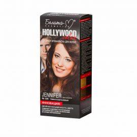 کیت رنگ مو هالیوود کالر مدل Jennifer رنگ بلوطی تیره