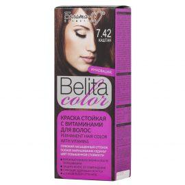کیت رنگ مو بلیتا کالر حاوی ویتامین شماره 7.42 رنگ بلوط