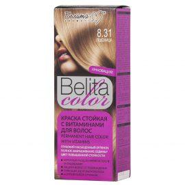 کیت رنگ مو بلیتا کالر حاوی ویتامین شماره 8.31 رنگ بلوند گندمی