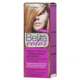 کیت رنگ مو بلیتا کالر حاوی ویتامین شماره 9.33 رنگ بلوند گردویی
