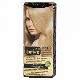 کیت رنگ مو هپی نس شماره 10.31 رنگ بلوند بژ بسیار روشن
