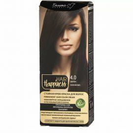 کیت رنگ مو هپی نس شماره 4.0 رنگ قهوه ای