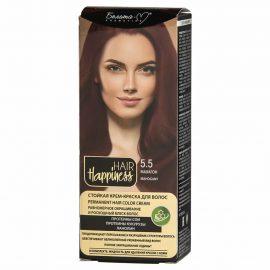 کیت رنگ مو هپی نس شماره 5.5 رنگ ماهونی