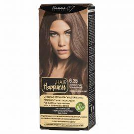 کیت رنگ مو هپی نس شماره 6.35 رنگ بلوند تیره طلایی