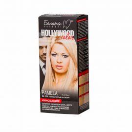کیت رنگ مو هالیوود کالر مدل Pamela رنگ بلوند نقره ای