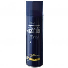 فوم اصلاح آقایان برای پوست خشک و حساس حجم ۲۵۰ میلی لیتر