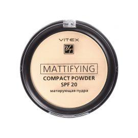 پنکک فشرده مات ویتکس SPF20 کد ۰۲ رنگ بژ طبیعی