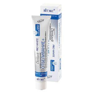 خمیر دندان سفید کننده دنتاویت پرو مدل وایتنینگ پلاس حجم ۸۵ گرم
